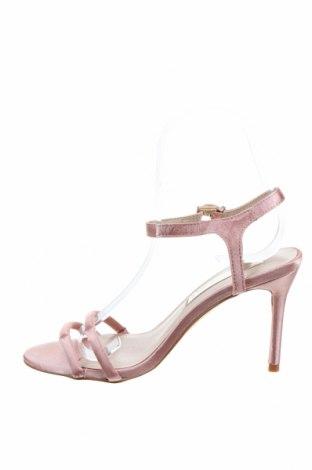 Сандали Miss Selfridge, Размер 36, Цвят Розов, Текстил, Цена 29,50лв.