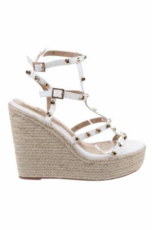 Sandály Missguided, Velikost 41, Barva Bílá, Eko kůže, Cena  770,00Kč