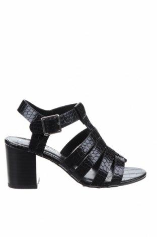 Сандали New Look, Размер 36, Цвят Черен, Еко кожа, Цена 44,25лв.