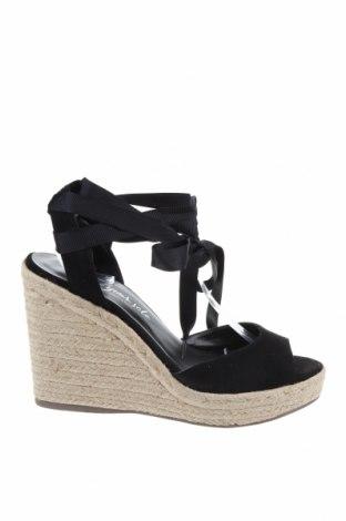 Σανδάλια New Look, Μέγεθος 41, Χρώμα Μαύρο, Κλωστοϋφαντουργικά προϊόντα, Τιμή 24,33€