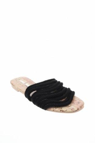 Сандали Public Desire, Размер 36, Цвят Черен, Текстил, Цена 24,50лв.