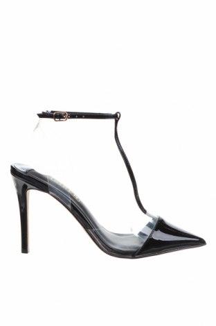 Дамски обувки Siren, Размер 37, Цвят Черен, Естествена кожа, полиуретан, Цена 94,50лв.