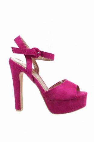 Σανδάλια Tata, Μέγεθος 38, Χρώμα Ρόζ , Κλωστοϋφαντουργικά προϊόντα, Τιμή 20,36€