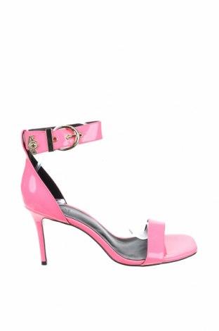 Сандали Versace Jeans, Размер 41, Цвят Розов, Еко кожа, Цена 264,52лв.