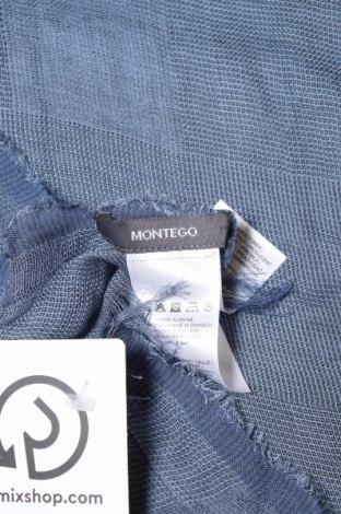 Κασκόλ Montego, Χρώμα Μπλέ, Βισκόζη, Τιμή 6,70€