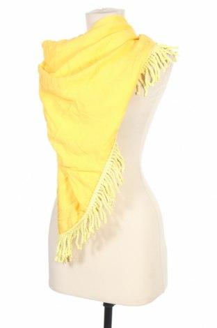 Шал TWINSET, Цвят Жълт, Вискоза, Цена 59,25лв.