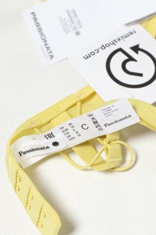 Сутиен Passionata, Размер S, Цвят Жълт, 86% полиамид, 14% еластан, Цена 16,17лв.