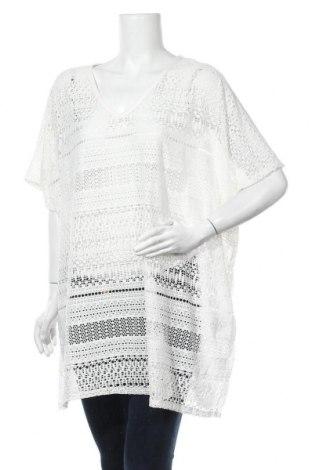 Туника Peacocks, Размер L, Цвят Бял, 97% полиестер, 3% еластан, Цена 17,96лв.