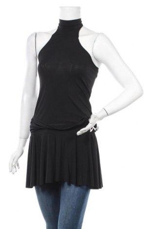 Туника Tout Feu Tout Femme, Размер S, Цвят Черен, 92% полиестер, 8% еластан, Цена 16,80лв.