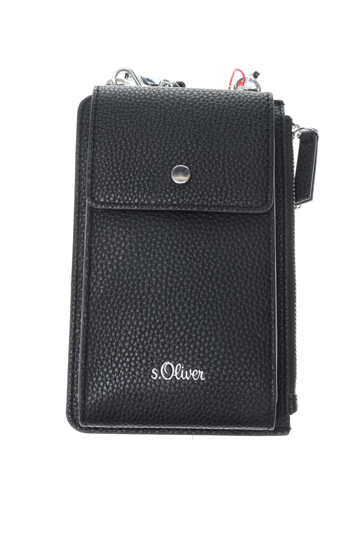 Γυναικεία τσάντα S.Oliver, Χρώμα Μαύρο, Δερματίνη, Τιμή 23,62€