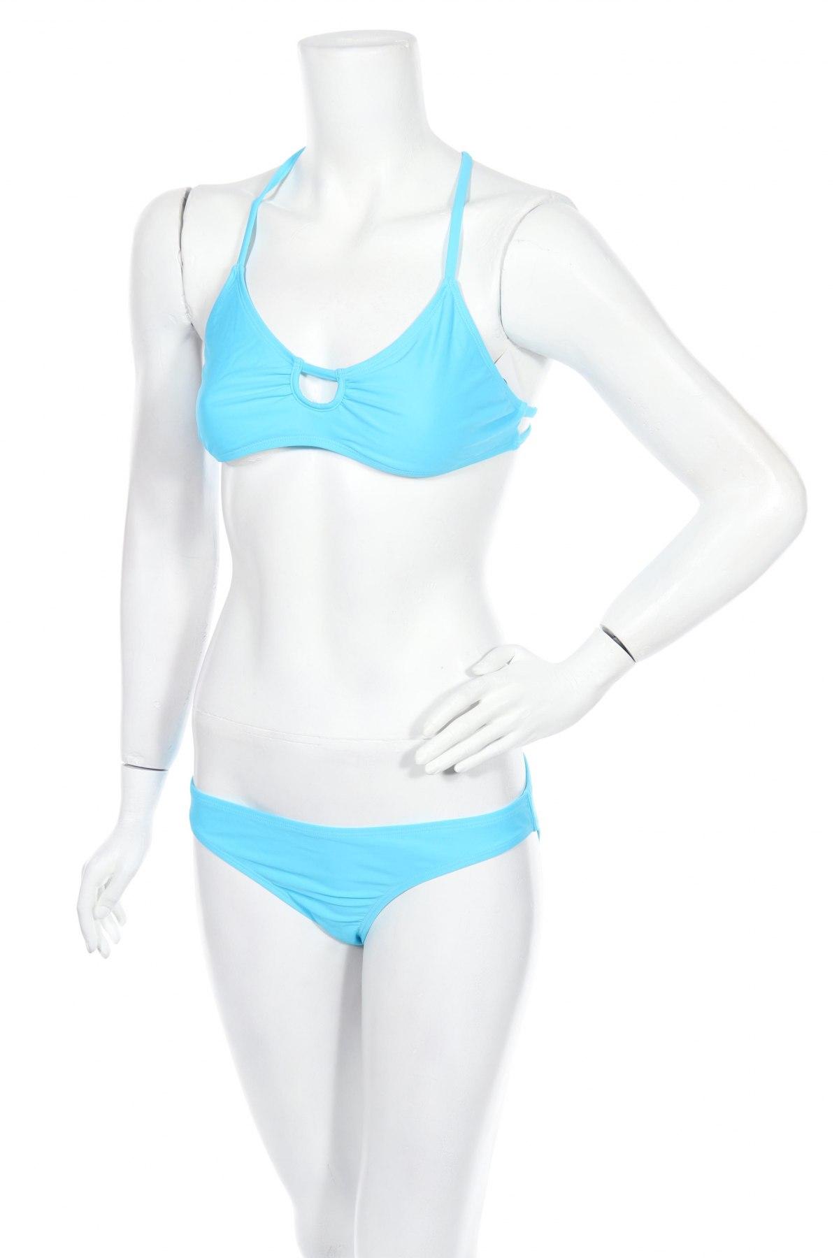 Дамски бански Twintip, Размер L, Цвят Син, 81% полиамид, 19% еластан, Цена 31,50лв.