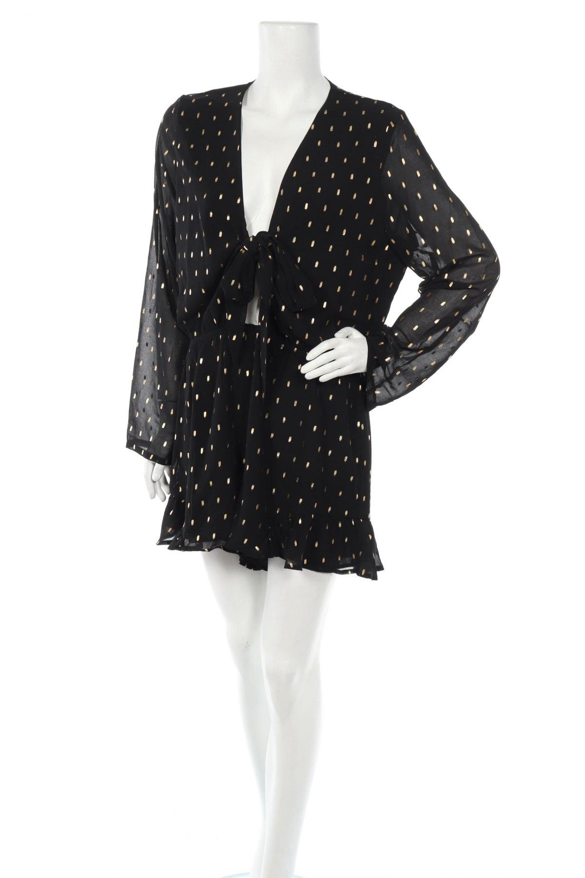 Дамски гащеризон Glamorous, Размер XL, Цвят Черен, Полиестер, Цена 35,20лв.
