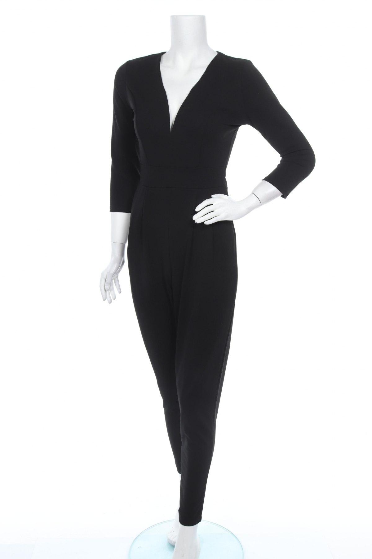 Γυναικεία σαλοπέτα Wal G, Μέγεθος M, Χρώμα Μαύρο, 95% πολυεστέρας, 5% ελαστάνη, Τιμή 29,60€