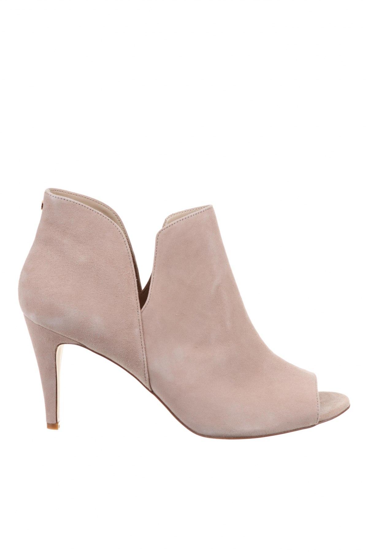 Дамски обувки Anna Field, Размер 44, Цвят Бежов, Естествен велур, Цена 28,00лв.