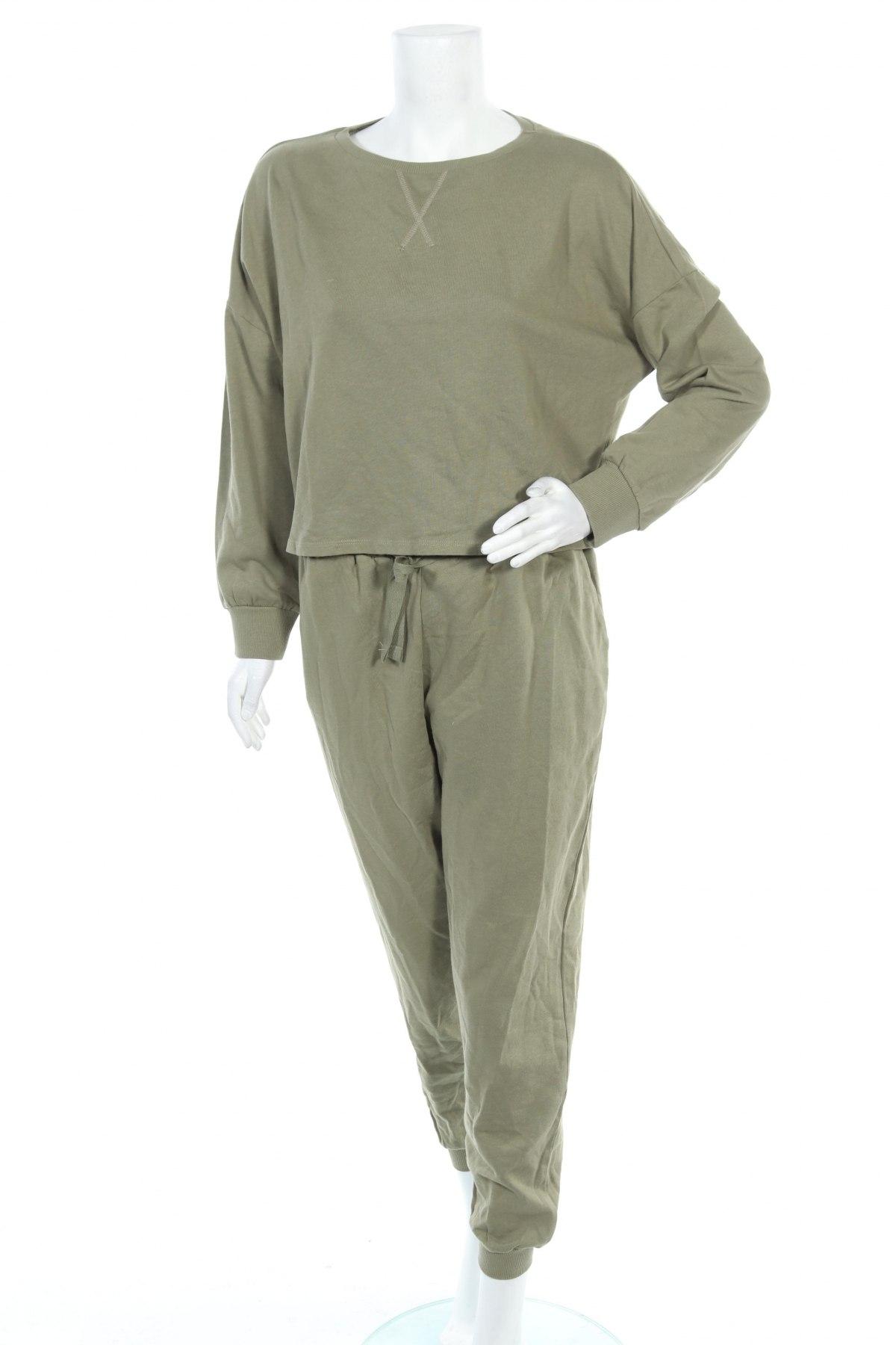 Γυναικείο αθλητικό σετ Anna Field, Μέγεθος M, Χρώμα Πράσινο, 100% βαμβάκι, Τιμή 22,40€