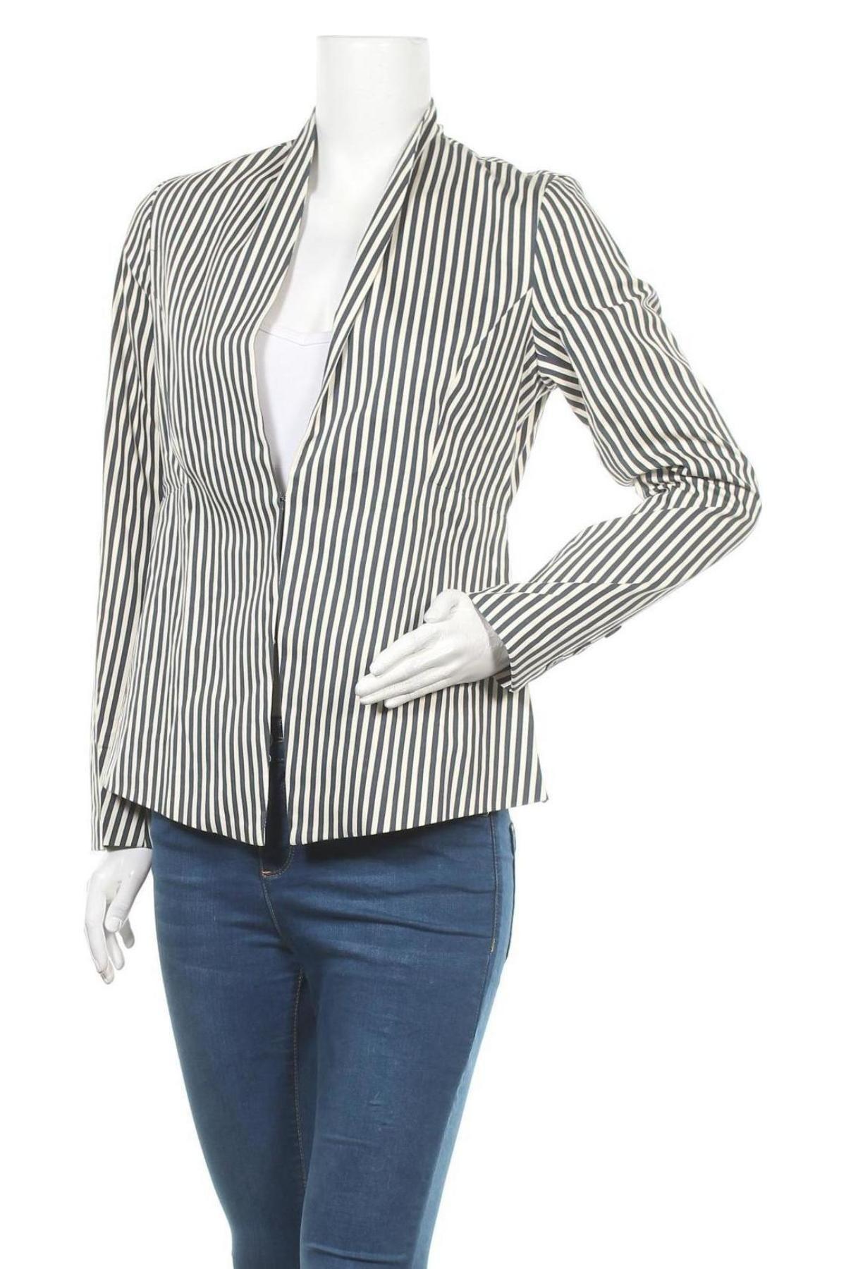 Γυναικείο σακάκι Myrine, Μέγεθος S, Χρώμα Λευκό, 97% βαμβάκι, 3% ελαστάνη, Τιμή 22,81€