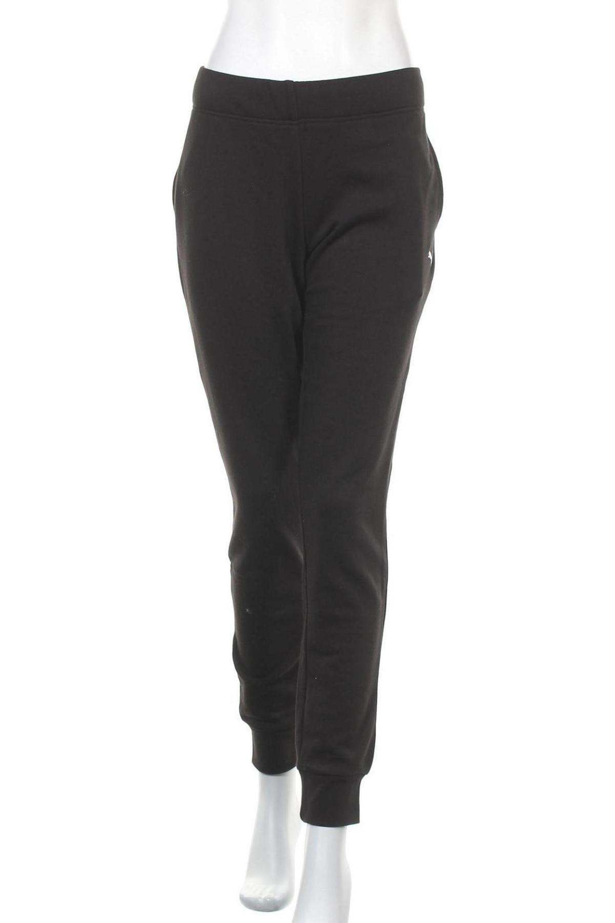 Γυναικείο αθλητικό παντελόνι PUMA, Μέγεθος XL, Χρώμα Μαύρο, 68% βαμβάκι, 32% πολυεστέρας, Τιμή 28,70€