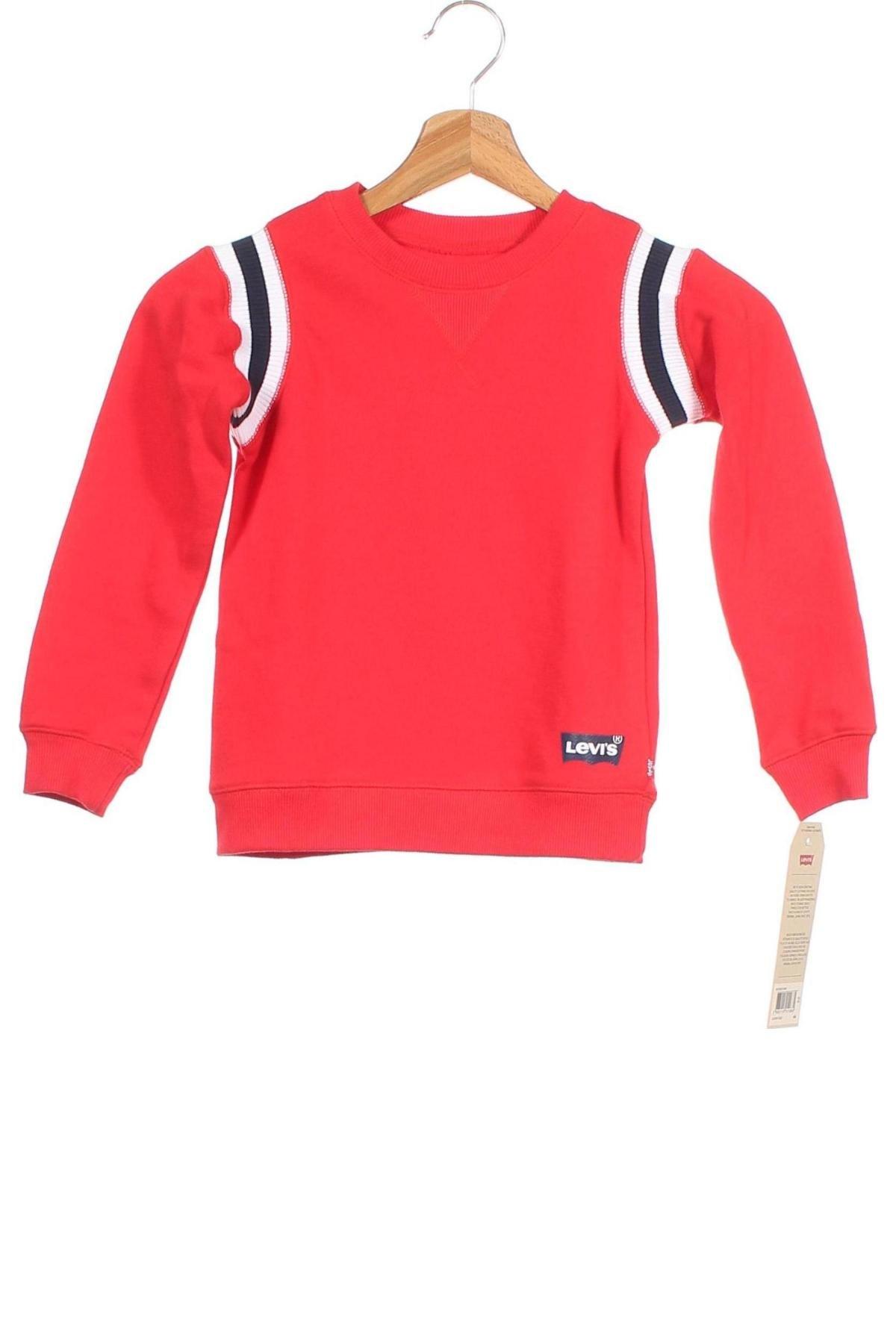 Παιδική μπλούζα Levi's, Μέγεθος 2-3y/ 98-104 εκ., Χρώμα Κόκκινο, 60% βαμβάκι, 40% πολυεστέρας, Τιμή 19,56€