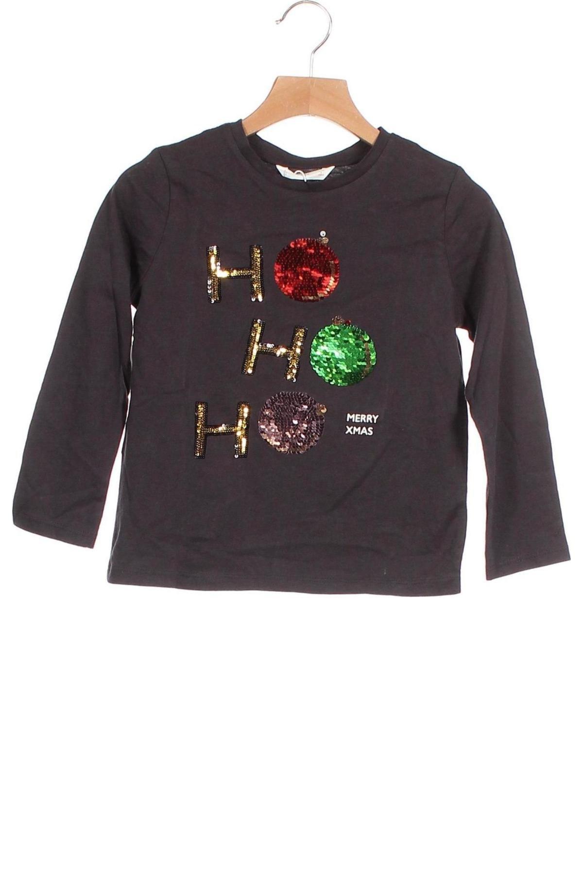 Παιδική μπλούζα Mango, Μέγεθος 4-5y/ 110-116 εκ., Χρώμα Γκρί, Βαμβάκι, Τιμή 12,62€