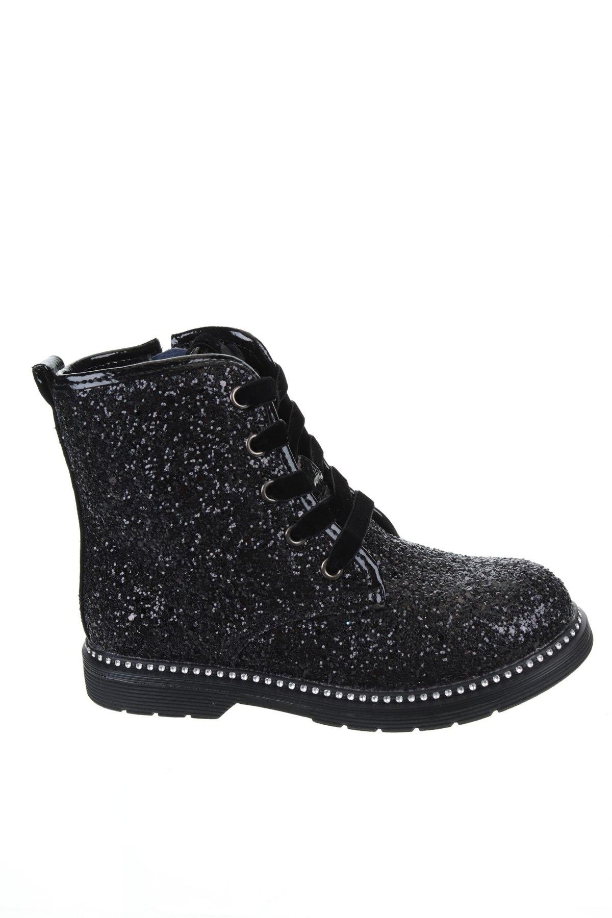 Детски обувки Gioseppo, Размер 28, Цвят Черен, Еко кожа, Цена 40,71лв.
