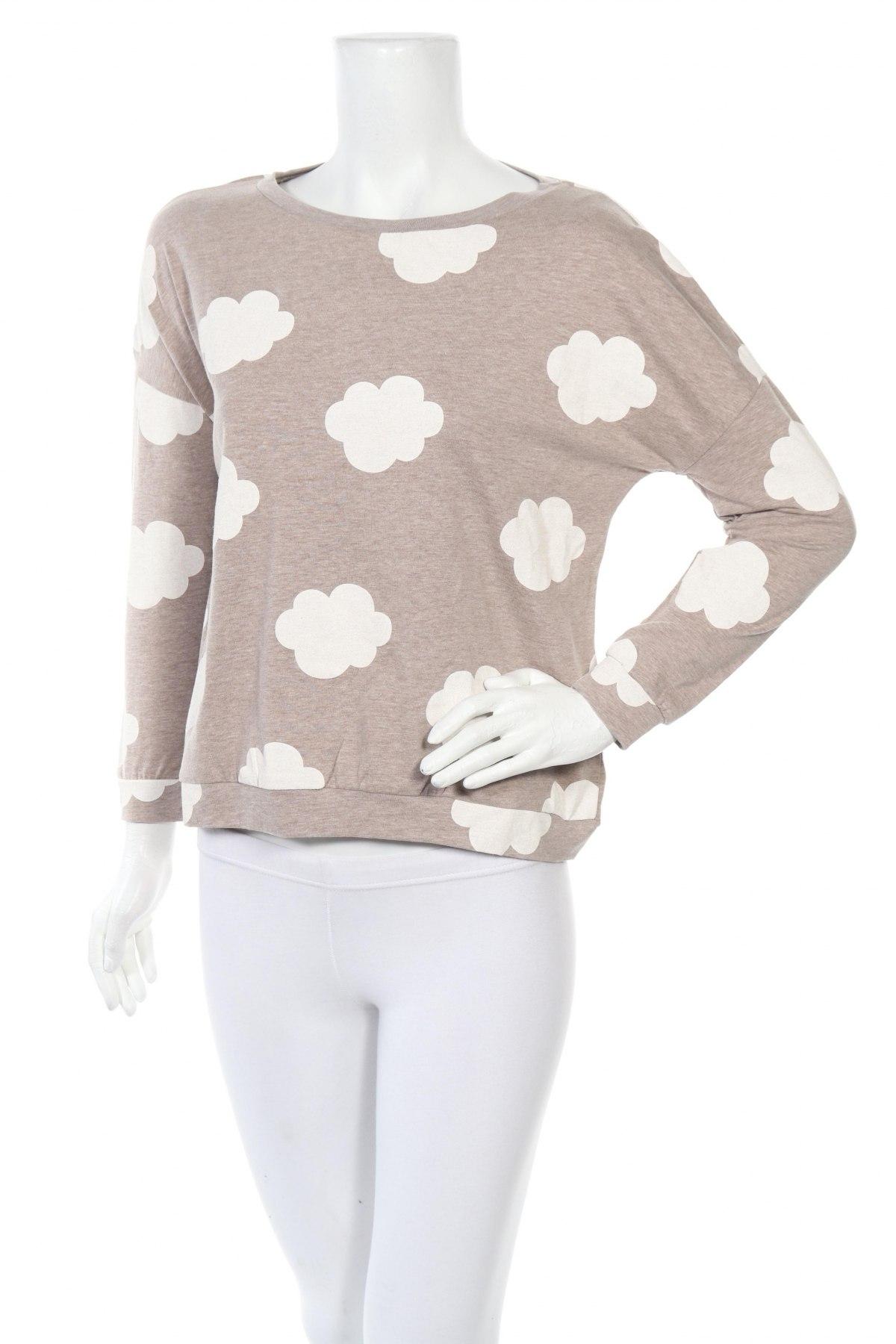 Пижама Anna Field, Размер S, Цвят Бежов, 50% памук, 45% полиестер, 5% еластан, Цена 28,50лв.
