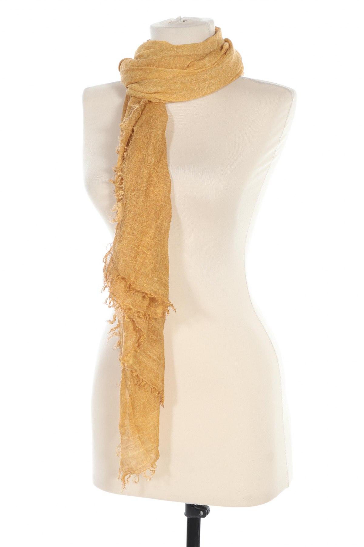 Κασκόλ, Χρώμα Κίτρινο, Μοντάλ, Τιμή 8,51€