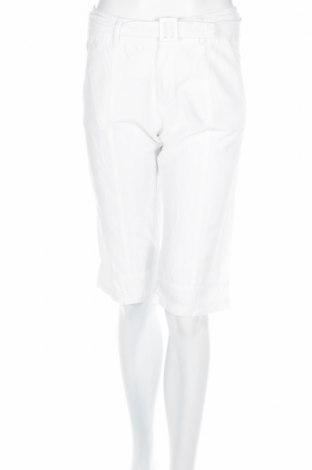 Γυναικείο παντελόνι Promiss, Μέγεθος S, Χρώμα Λευκό, 52% λινό, 48% βαμβάκι, Τιμή 2,94€