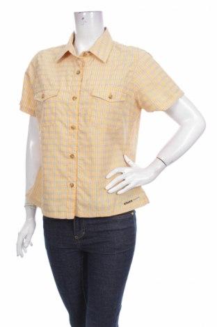 Γυναικείο πουκάμισο Eider, Μέγεθος L, Χρώμα Κίτρινο, 62% πολυαμίδη, 38% πολυεστέρας, Τιμή 3,56€