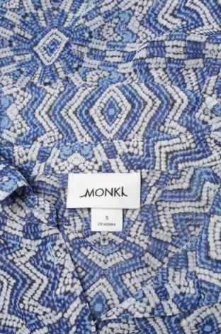 Γυναικείο πουκάμισο Monki, Μέγεθος S, Χρώμα Μπλέ, 100% πολυεστέρας, Τιμή 9,90€