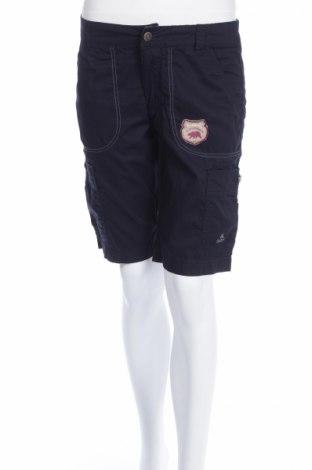 Дамски къс панталон Ock, Размер XS, Цвят Син, Памук, Цена 6,30лв.