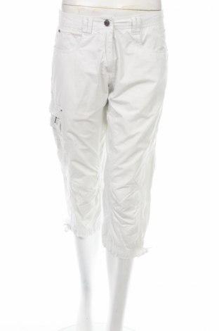 Дамски панталон Icepeak, Размер M, Цвят Бял, 45% полиестер, 15% полиамид, 40% памук, Цена 3,06лв.