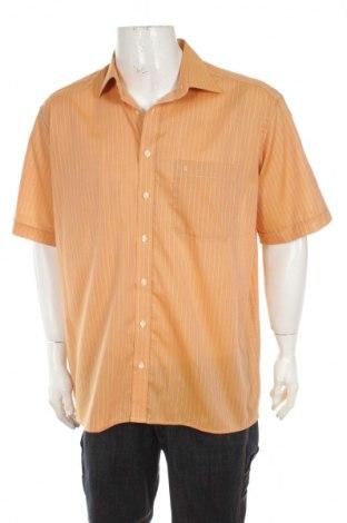 Мъжка риза Eterna, Размер XL, Цвят Оранжев, 100% памук, Цена 3,00лв.