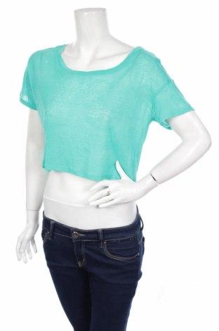Γυναικεία μπλούζα Mossimo, Μέγεθος L, Χρώμα Πράσινο, 57% πολυεστέρας, 43% βαμβάκι, Τιμή 3,47€