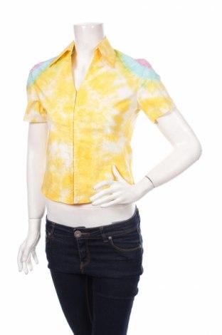 Дамска риза, Размер M, Цвят Жълт, Цена 5,40лв.