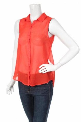 Дамска риза H&M, Размер S, Цвят Червен, Цена 7,00лв.