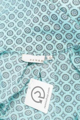 Γυναικείο πουκάμισο Kenar, Μέγεθος M, Χρώμα Μπλέ, 100% πολυεστέρας, Τιμή 9,90€