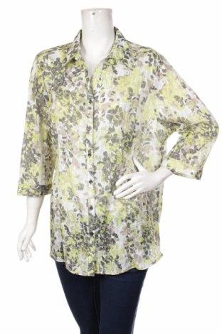 Γυναικείο πουκάμισο Laura T., Μέγεθος M, Χρώμα Πολύχρωμο, 65% πολυεστέρας, 35% βαμβάκι, Τιμή 14,23€
