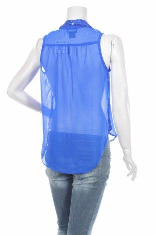 Γυναικείο πουκάμισο Wet Seal, Μέγεθος M, Χρώμα Μπλέ, 100% πολυεστέρας, Τιμή 11,13€