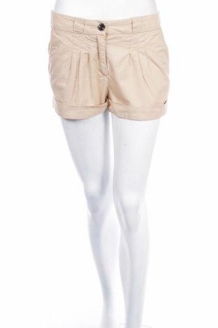 Γυναικείο κοντό παντελόνι H&M, Μέγεθος XS, Χρώμα  Μπέζ, 100% βαμβάκι, Τιμή 14,69€