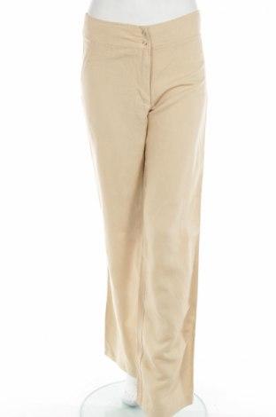 Γυναικείο παντελόνι Seventy, Μέγεθος M, Χρώμα  Μπέζ, 60% βισκόζη, 40% λινό, Τιμή 6,70€