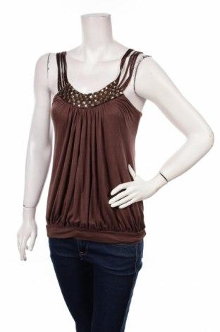 Дамски потник Fashion Elle, Размер XS, Цвят Кафяв, 65% памук, 35% други нишки, Цена 5,74лв.