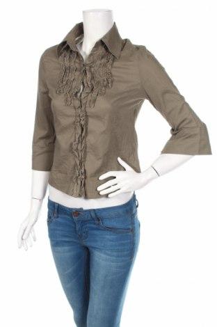 Дамска риза, Размер S, Цвят Сив, Цена 5,06лв.