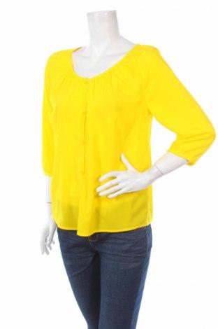 Дамска риза Rick Cardona, Размер S, Цвят Жълт, 100% полиестер, Цена 7,20лв.
