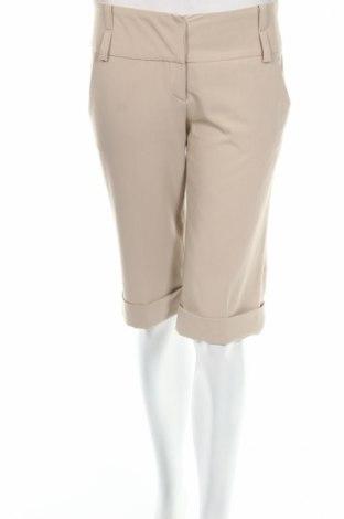 Γυναικείο κοντό παντελόνι Naf Naf, Μέγεθος S, Χρώμα Γκρί, 75% πολυεστέρας, 5% ελαστάνη, 20% βισκόζη, Τιμή 7,14€