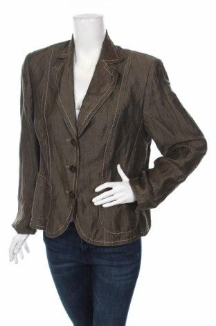 Дамско сако Gerry Weber, Размер L, Цвят Зелен, Ацетат, Цена 13,52лв.