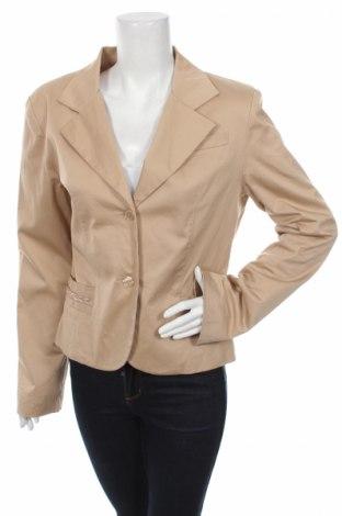 Дамско сако Nerso, Размер XL, Цвят Бежов, 97% памук, 3% еластан, Цена 8,12лв.