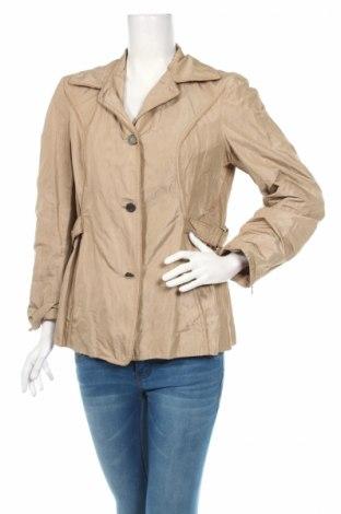 Дамско яке, Размер L, Цвят Бежов, 92% полиестер, 6% метални нишки, 2% полиамид, Цена 8,06лв.