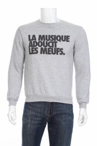 Мъжка блуза Rad, Размер S, Цвят Сив, 50% полиестер, 50% памук, Цена 27,30лв.
