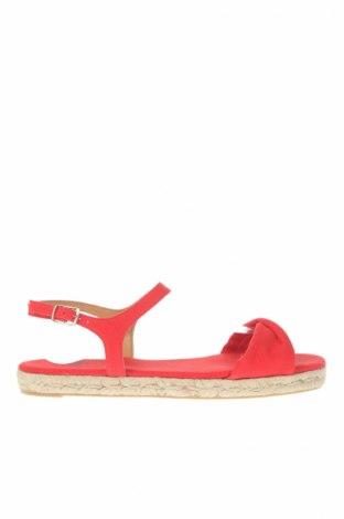 Sandale Castaner, Mărime 39, Culoare Roșu, Textil, Preț 89,51 Lei