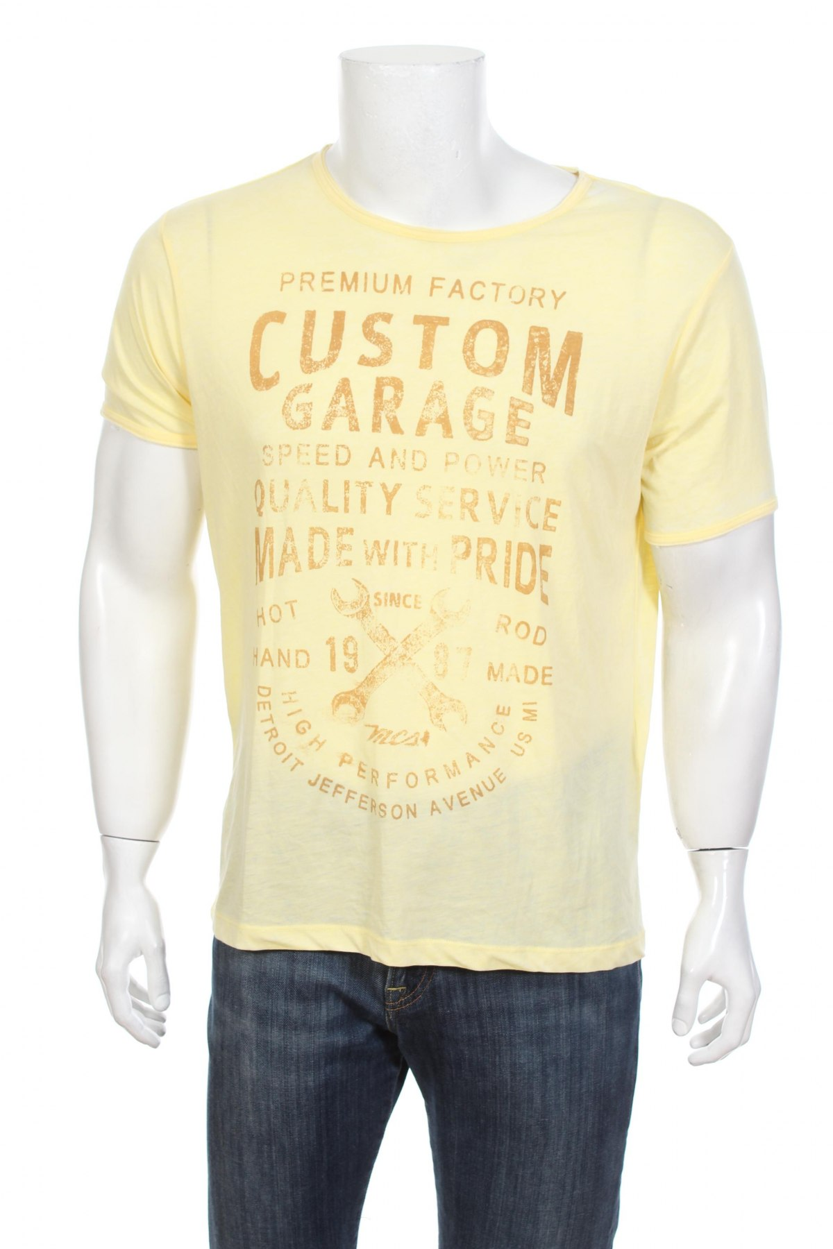 29fd2a4b5 Pánske tričko MCS - za výhodnú cenu na Remix - #104626469